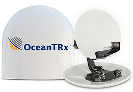 Larger Maritime Stabilized VSAT System