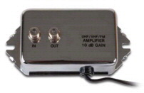 10dB UHF / VHF / FM Home Distribution Amplifier