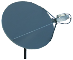 snow and ice antenna satellite cover 1.2 Meter Offset Dish Cover