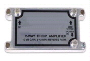 1GHz 2-Way Drop Amplifier With Forward and Reverse Path - 10dB