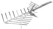 Deep Fringe UHF / VHF / FM Antenna