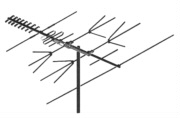 CROSSFIRE UHF / VHF / FM Antenna. Ghosting Problem