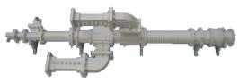 Insat C Band 2 ports Diplexer (Circular POL) INSAT C BAND