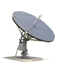 3.5 - 3.8 Meter Offset Dish Cover snow and ice antenna cove