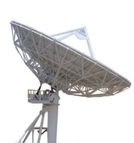 Teleport Large Uplink Antenna Feed Support  Arms
