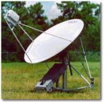 SIPRNET and NIPRNET access Portable Internet Dish V-Sat