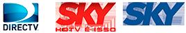DIRECTV Latin America - SKY Mexico - Argentina, Caribbean, Chile, Colombia, Ecuador, Peru, Puerto Rico, Venezuela, Uruguay and Brazil.