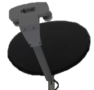 dish network snow and ice satellite antenna cover