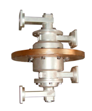 Dual waveguide rotary joint