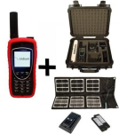 Iridium Extreme 9575 Satellite Phone - Emergency Responder Package w/ Solar Panel, Case & Desktop Charger
