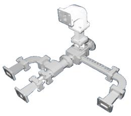 Standard Ku Band 4 port Diplexer (Linear POL)