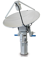 2.4 Meter L/S-Band Tracking System
