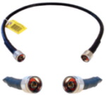 Ultra Low Loss 400 Jumpers with N-Male Connectors