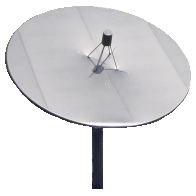 3.2 - 3.7 Meter Offset Dish Cover snow and ice satellite dish cover