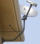 DirecTV Roof Mount Eve Bracket - Under the Eve Slimline Mount