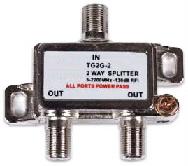 Power passive 2way Wideband Splitter
