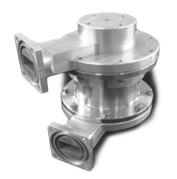 Single Channel Waveguide Rotary Joint - U Type