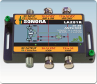 Sonora 54 to 2400 MHz One Coax Line Amplifier