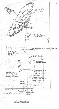 Tall Pole Mount Install Drawing