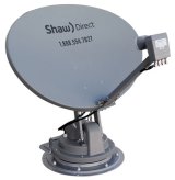 Automatic Point Shaw Direct Satellite Dish
