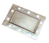 Feed cover plate &  Flexible Twistable waveguide Includes Gasket and Hardware