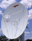 4.6 Meter Dish K-band earth station antennas feature a uniquely formed dual reflector Gregorian system coupled with close-tolerance
