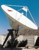 7.3 Meter Dish high gain and exceptional pattern characteristics