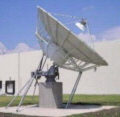 8.1 Meter Dish - Operation in C-band linear and circular, cross and co-polarization