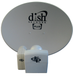 Dish 500 plus Satellite Dish New with LNB For 118.7, 119, 110