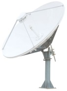 3.8 offset - 2.4 - 4 meter 5 meter RX TX Dish - Large Satellite