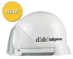 The ultimate in tailgating. DISH Network tailgater will automatically find the satellite orbital locations for you.
