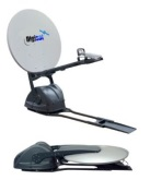 Self aiming automatc satellite alignment dish system