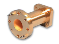 X-Band Straight Round Waveguide Section Cooper