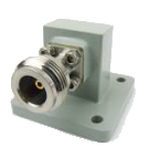 Waveguide to N-Connector Grooved